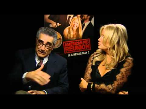moviesireland - Jennifer Coolidge & Eugene Levy Interview for American Pie Reunion for http://www.Movies.ie.