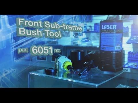 6051 | LaserTools Front Subframe Bush Tool / Vauxhall Vivaro, etc.