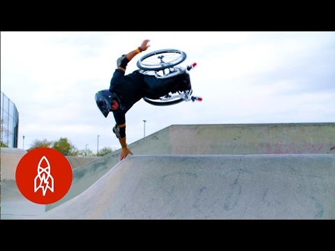 Aaron  Wheelz  Fotheringham Talks About Hitting Skateparks and Doing Insane Wheelchair