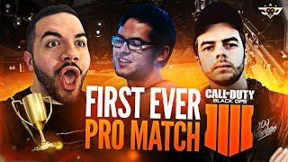 FIRST EVER BLACK OPS 4 COMPETITIVE MATCH! WITH PRO PLAYERS! ***INTENSE***