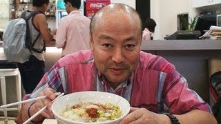 Gourmet Report:Bangkok Suvarnabhumi Airport,Thailand グルメレポート 酸っぱい麺