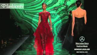 Monique Lhuillier Fall/Winter 2013-14 | New York Fashion Week NYFW | FashionTV