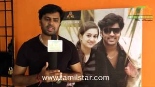 Gautham Krishna at Manal Naharam Movie Team Interview