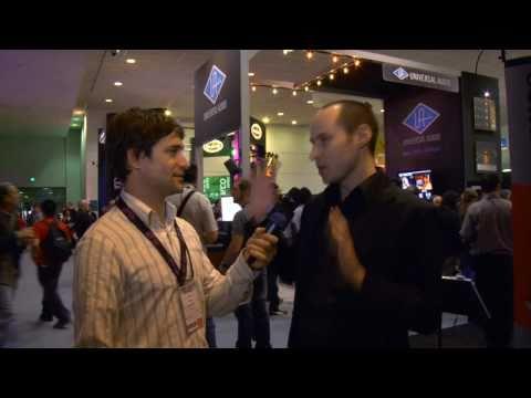 Lev Perrey, Universal Audio – Avid @ Winter NAMM 2011
