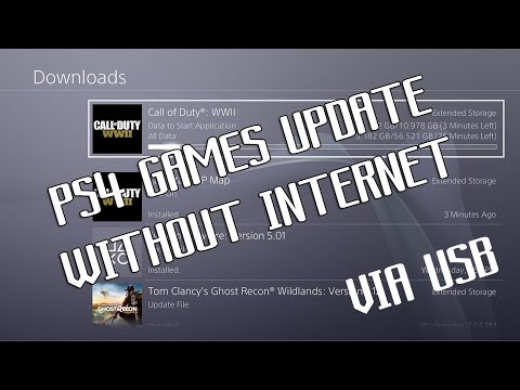 How To Update PS4 Games Without Internet Up To 5.05 Firmware (OFW)
