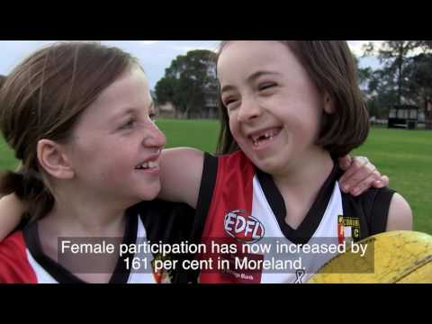 Changing the game - female participation in sport video