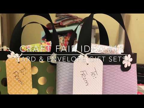 Craft Fair Series 2018-Card & Envelope Gift Sets