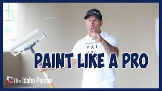 5 Tips Painting Walls Fast
