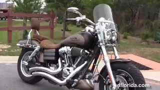 4. Used 2010 Harley Davidson CVO Fat Bob Motorcycles for sale