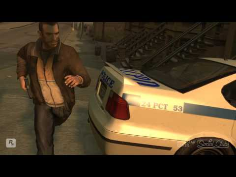 GTA 4 Funny police chase PSYCHO (HD)