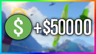 GTA 5 Online Fast & Easy Money! - How To Make $50,000 In 45 Seconds! (GTA 5)