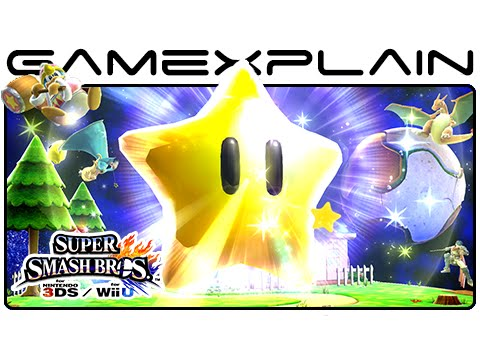 3DS - http://www.GameXplain.com Nintendo just sent us 32 screenshots of Super Smash Bros. Wii U & 3DS that originally ran in Famitsu magazine showcasing new pictures of Rosalina & Luma, Little Mac,...