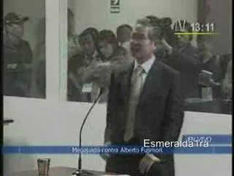 Fujimori grita su inocencia