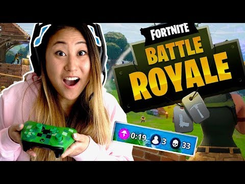 LET'S PLAY FORTNITE!! (BATTLE ROYALE) - Lizzy Sharer Gaming