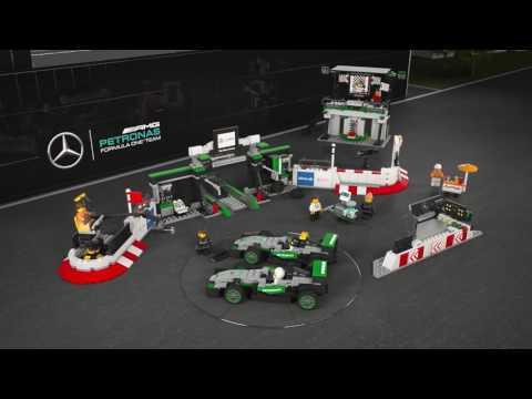 Конструктор Mercedes Amg Petronas Formula One™ Team - LEGO SPEED CHAMPIONS - фото № 3