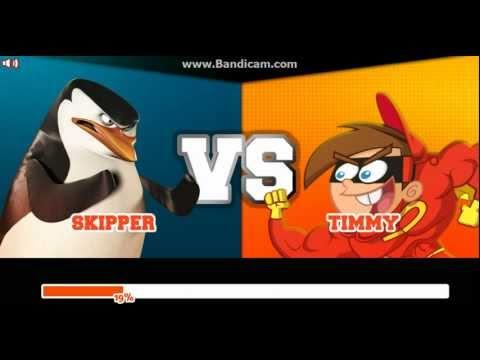 Super Brawl 2 - SKIPPER vs TIMMY TURNER