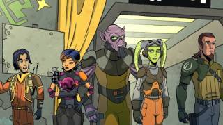 Star Wars - Rebels 01 (Bande annonce) - Bande annonce - STAR WARS - REBELS