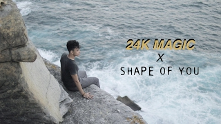 Video SHAPE OF YOU x 24K MAGIC - ANANTAVINNIE MP3, 3GP, MP4, WEBM, AVI, FLV Juli 2018