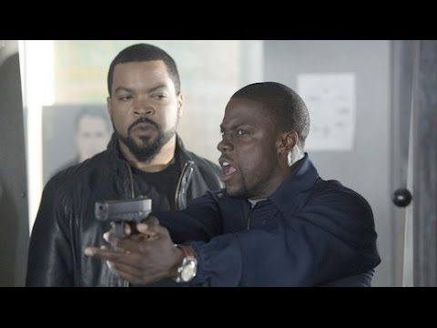 Ride Along (Kevin Hart) Funny Gun shooting scene HD