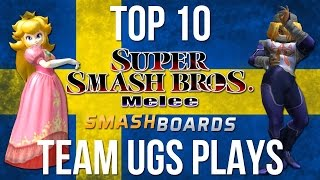 Top 10 Team UGS Plays – Super Smash Bros (Armada + Android)