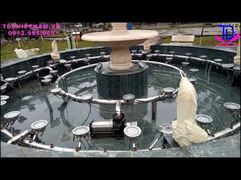 Đèn Led chìm dùng cho đài phun nước - Đèn Led âm nước
