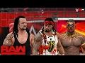 WWE 2K17 Custom Story - Roman Reigns Becomes Zombie Raw 2017 ft. Undertaker, Cena, Lesnar - PART 12