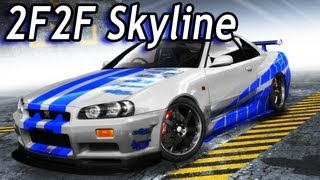 Nonton NFS Pro Street - 2 Fast 2 Furious Nissan Skyline R34 Film Subtitle Indonesia Streaming Movie Download