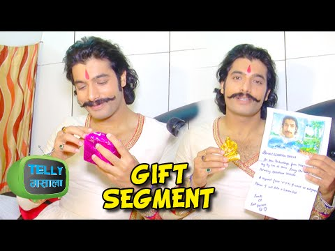 Sharad Malhotra aka Maharana Pratap's Gift Segment