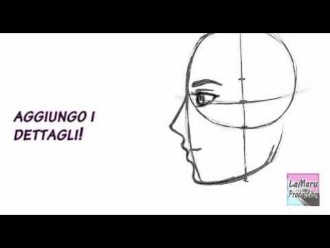 Profilo - Eccoci qua!! Secondo tutorial finalmente!!! In questo video vi faccio vedere come io disegno un viso di profilo, quali sono le linee guida che utilizzo e le ...