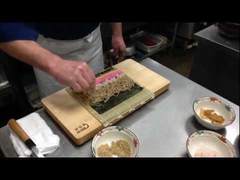 「そば寿司」の作り方