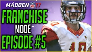 MADDEN 17 FRANCHISE MODE: NEW FRANCHISE QUARTERBACK REPLACES DEREK CARR?!