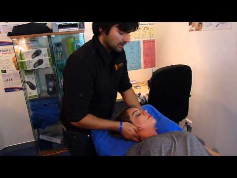 Adjustments - Watch real life chiropractic adjustments for neck and back. Chiropractor adjusts neck and back on patient to remove spinal joint dysfunction. Perth chiroprac...