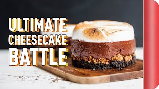 THE ULTIMATE CHEESECAKE BATTLE ft. TOM DALEY by SORTEDfood