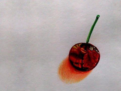 HOW TO DRAW   crystal cherry (видео)