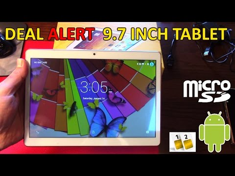 Deal Alert 9.7 inch Octo Core Budget Tablet Android Rooted review by Xzulas