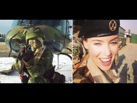 世界各國女生穿著軍服的樣子,太漂亮了!