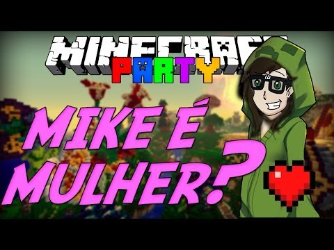 Minecraft Party: Mike Mulher Novamente? (Mini-Game)