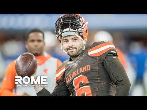 Video: Baker Mayfield RIPS NY Giants For Drafting Daniel Jones | The Jim Rome Show