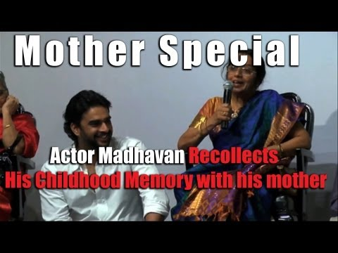actor - Mothers Day - Actor Madhavan recollects his childhood memories with his mom Indian Movie Star Madhavan talks about his mom and his love for her, in a mothers...