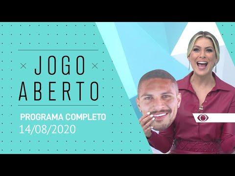 JOGO ABERTO - 14/08/2020 - PROGRAMA COMPLETO