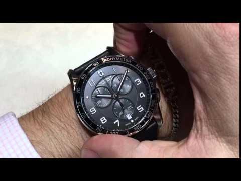 Reloj Victorinox Chrono Classic Xls - en Español