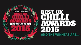 Who will win in this year's People's Choice UK Chilli Awards 2015?
