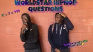 WorldStar Hip-Hop Questions Vid ( MUST WATCH ‼️)