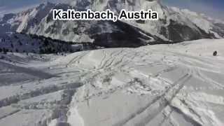 Kaltenbach Austria  City new picture : Ski weekend in Kaltenbach, Austria, 2015 (GoPro video)