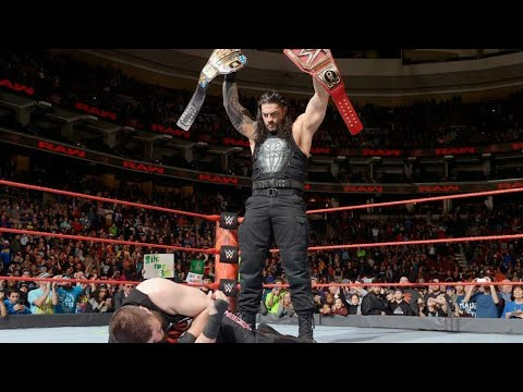 FULL MATCH_-_ Roman Reigns vs. Kevin Owens Universal Championship ROADBLOCK 2018 !