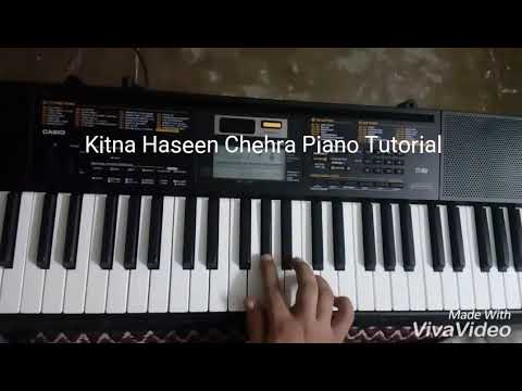 Video Kitna Haseen Chehra (Dilwale) Piano Tutorial download in MP3, 3GP, MP4, WEBM, AVI, FLV January 2017