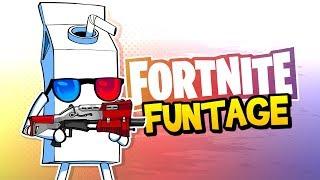 Fortnite Battle Royale FUNTAGE! - Trickshots, JUICY Pickles & More!
