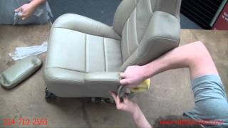 Ford F250/350, Excursion, Expedition Armrest Cover Install
