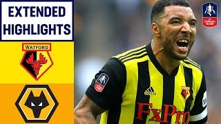 Download Video Hornets Seal THRILLING Comeback! | Watford 3-2 Wolves | Emirates FA Cup 18/19 MP3 3GP MP4