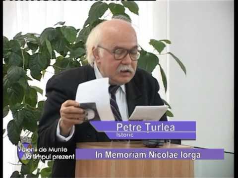 Emisiunea Vălenii de Munte la timpul prezent – In memoriam Nicolae Iorga – 28 noiembrie 2014
